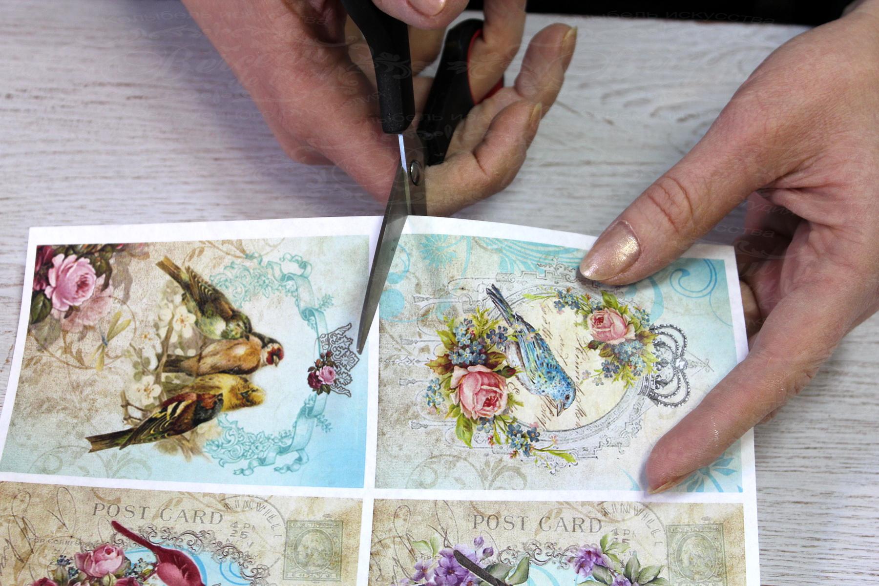 Как делать декупаж своими руками: оклеивание салфетницы, мастер-класс по созданию картины из салфеток
