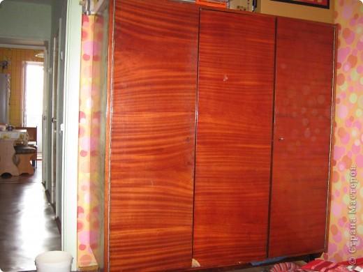 Реставрация старого платяного шкафа