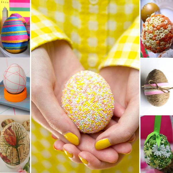 Как украсить пасхальные яйца - лайфхакер