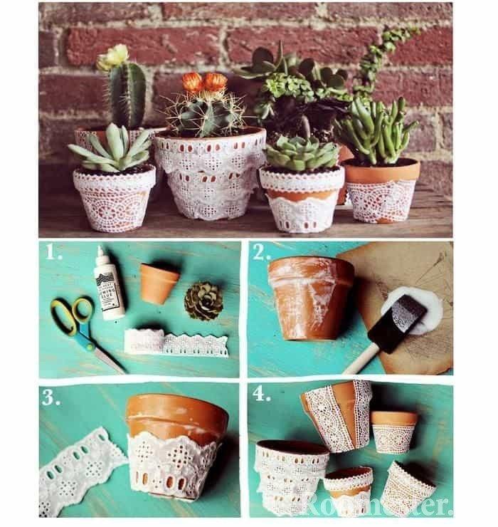 Горшки для цветов своими руками — лучшие идеи и рекомендации как и из чего лучше всего сделать горшки для цветов (85 фото)
