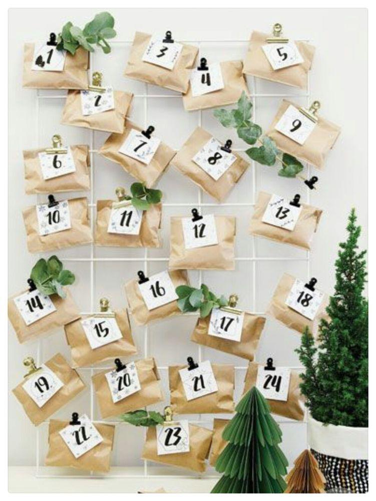 Адвент-календарь: как сделать своими руками и где купить