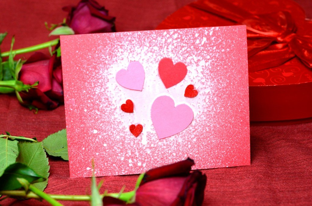 ᐉ быстрая валентинка ко дню влюбленных - своими руками -