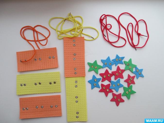 Как сделать игрушку-шнуровку для развития детей своими руками