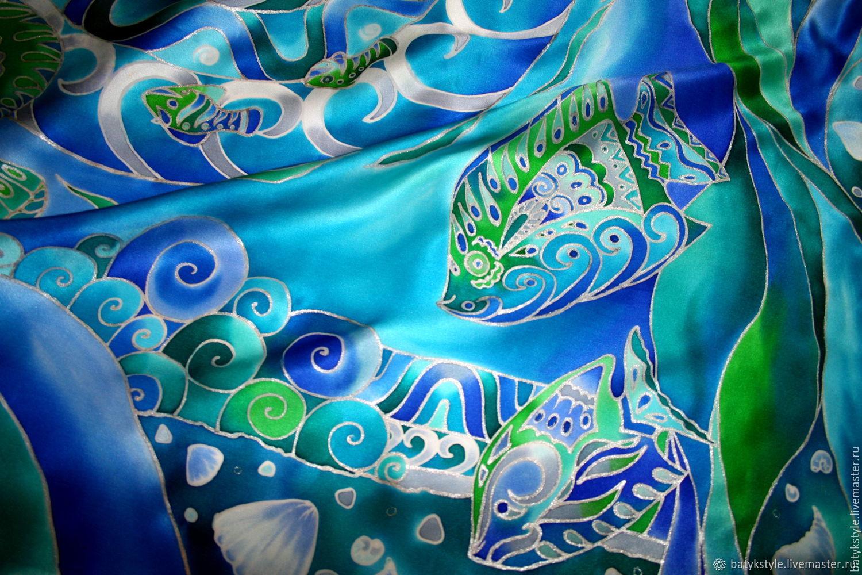 Горячий и холодный батик: все о техниках росписи по ткани