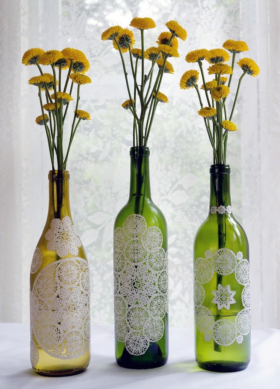 Декор предметов декупаж новая жизнь старой вазы