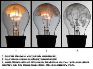Электрические лампы накаливания – история, устройство, выбор