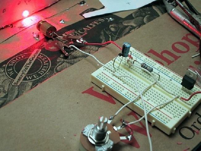 Фокусировка лазерного диода. лазер из dvd