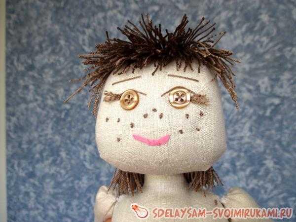 Тряпичная кукла-закрутка | страна мастеров