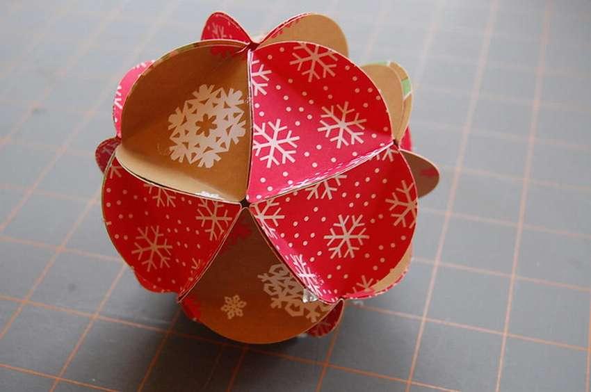 ᐉ красивые шары из бумаги. бумажные шары своими руками: пошаговые инструкции по изготовлению новогоднего шара, простой китайской кусудамы и объемной сферы из гофрированной бумаги ➡ klass511.ru
