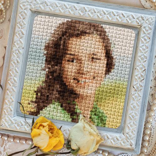 Мастер-класс. вышиваем портрет по фотографии. часть 2. создание схемы для вышивки по фотографии