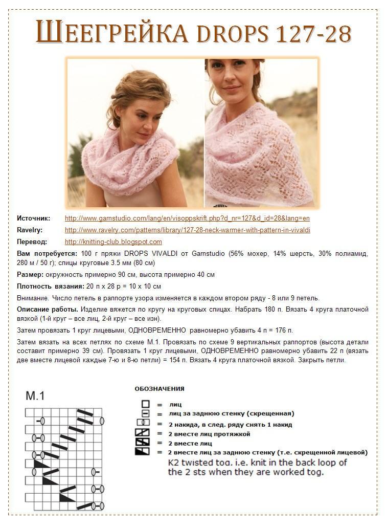 Шарф-хомут спицами - топ-140 фото вариантов красивых хомутов спицами. пошаговый мастер-класс для начинающих с простыми вязальными схемами