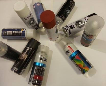Аэрозольная краска в баллончиках для декора: топ-12 видов и как пользоваться