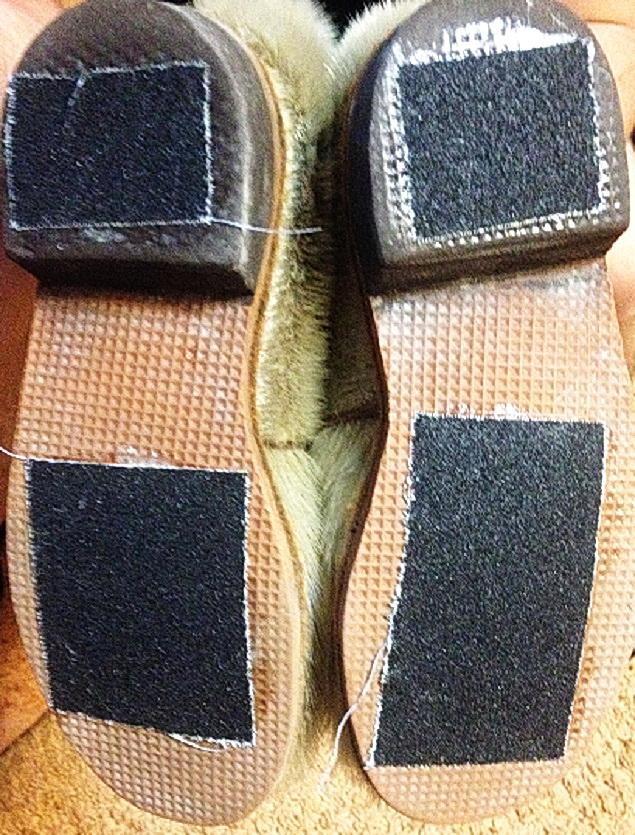Антискользящие накладки для обуви своими руками » изобретения и самоделки