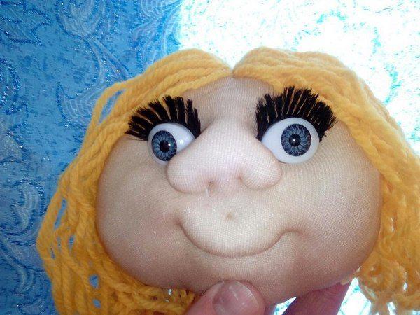 Кукла «попик» из капрона своими руками — коробочка идей и мастер-классов