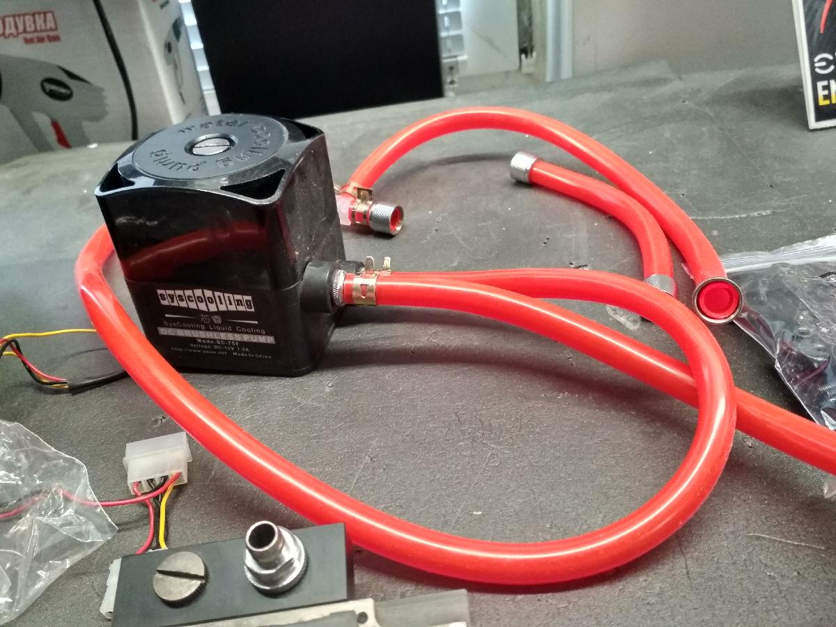 Водяная система охлаждения процессора и как она работает