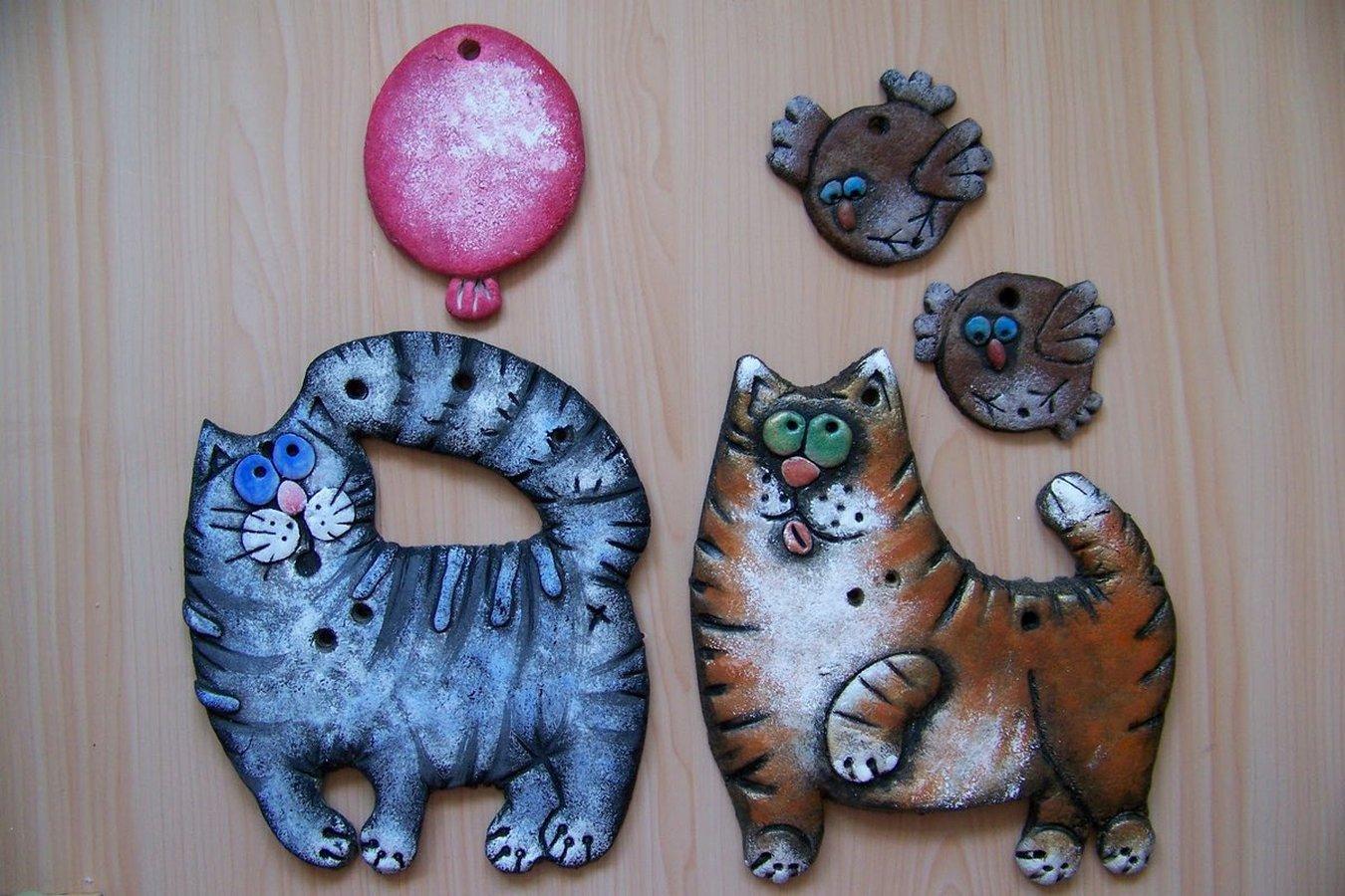 Как сделать поделку кота из солёного теста: принципы и основные способы, пошаговый мастер-класс