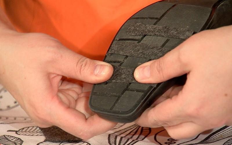 Как сделать подошву тапочек нескользкой?