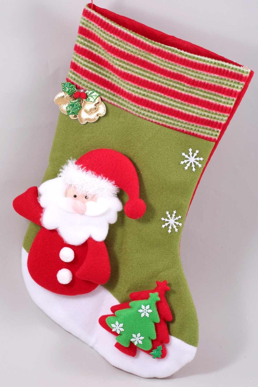 Рождественский чулок своими руками