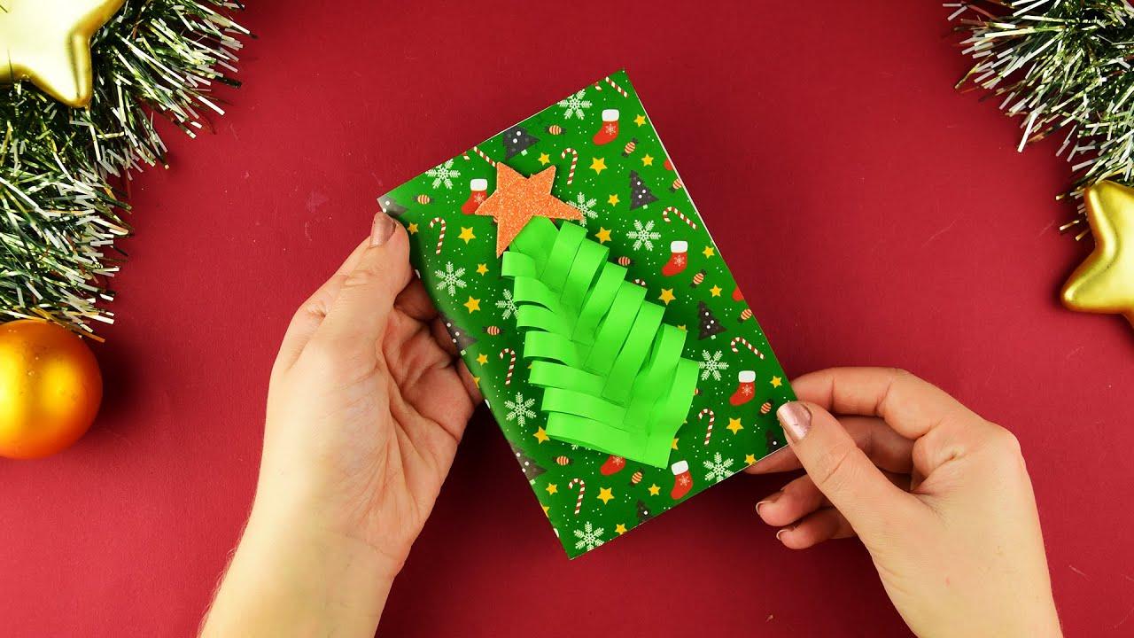 Поздравления на праздник с душевной теплотой — делаем новогодние открытки своими руками