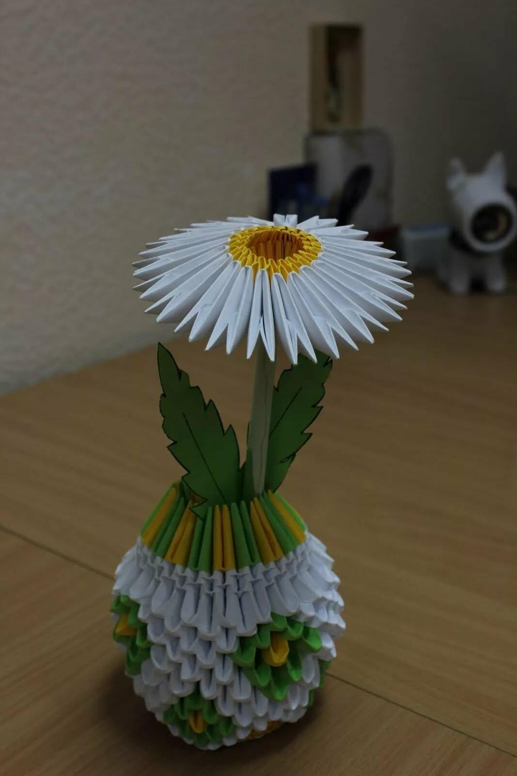 Ваза оригами из модулей для начинающих: инструкция, как сделать своими руками! 100 фото лучших идей с эксклюзивным дизайном + мастер-класс