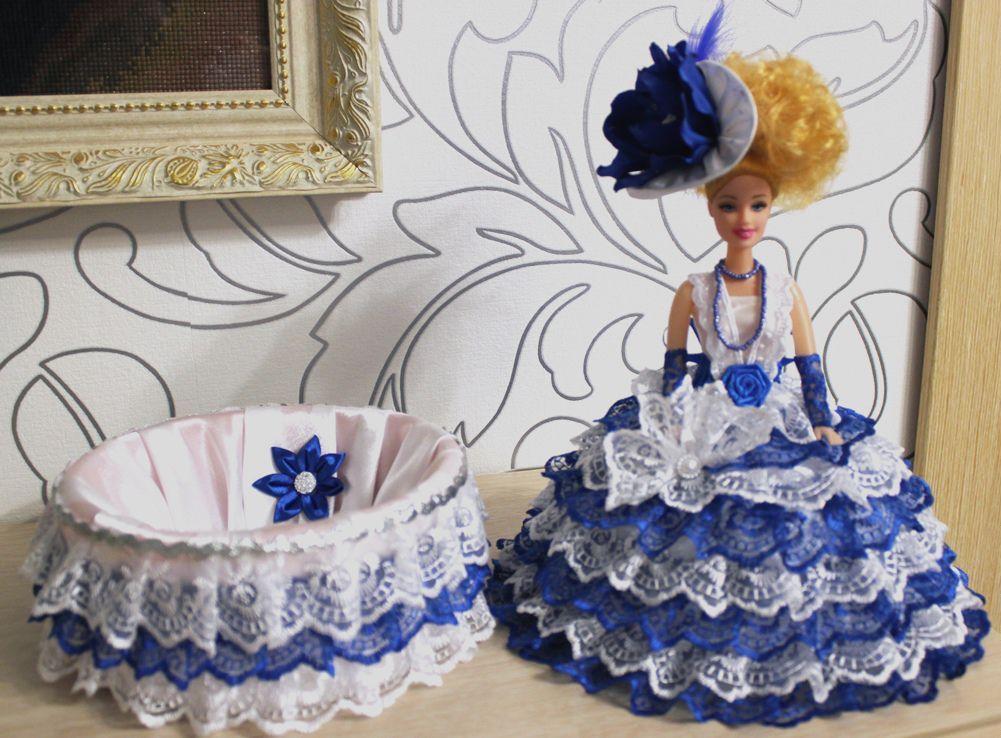 Куклы шкатулки своими руками мастер класс. кукла шкатулка из куклы барби. платье для куклы шкатулки