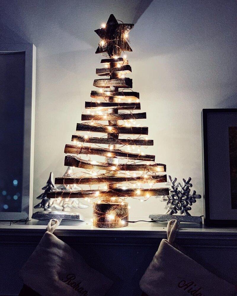 7 креативных елок на новый год - как сделать новогоднюю елку из конфет, бумаги, цветочной сетки?