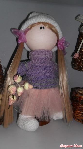 Кукла большеножка - игрушки своими руками - страна мам