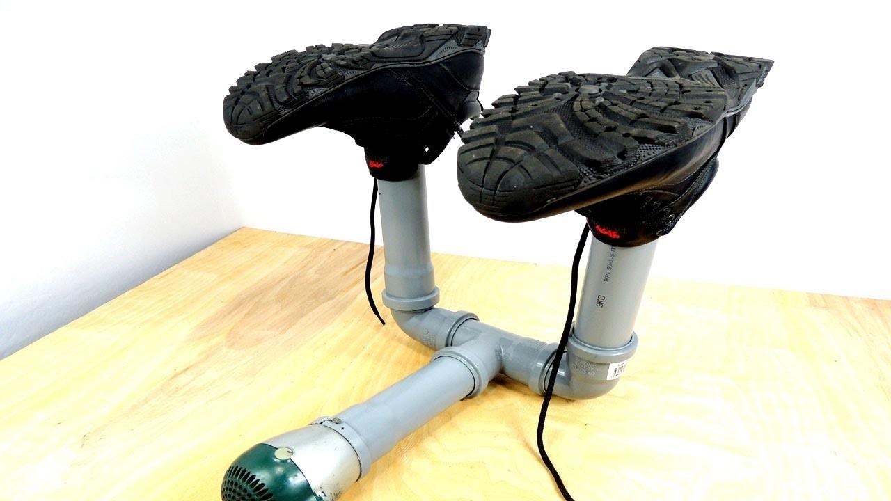 Что поможет быстро высушить промокшие ботинки или сапоги