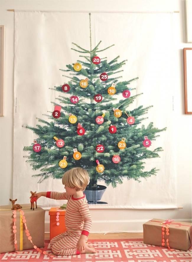 Альтернативная елка на новый год своими руками – 7 лучших идей к новому году