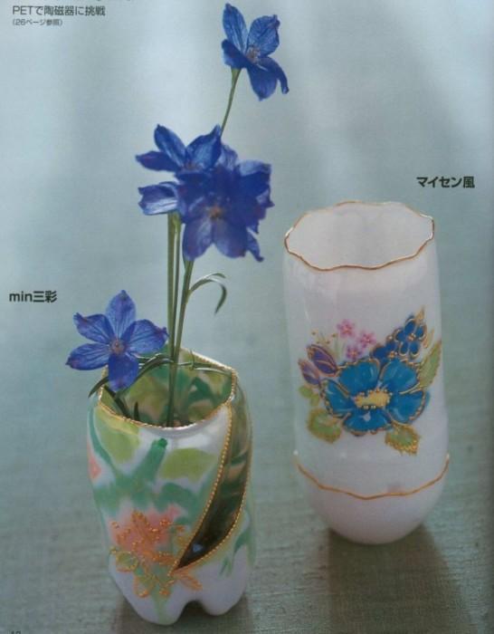 Новая жизнь старой вазы:) | страна мастеров