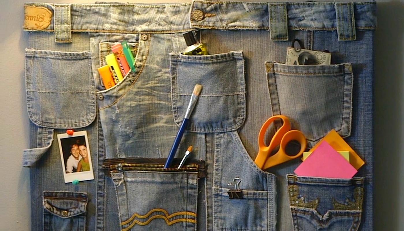 Конкурс «поделки из джинсов»