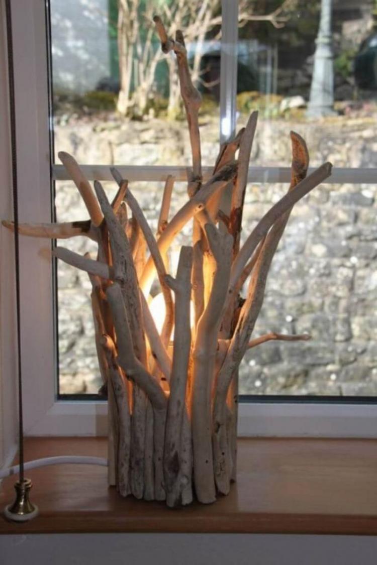 Ветки в интерьере любой комнаты - zefirka