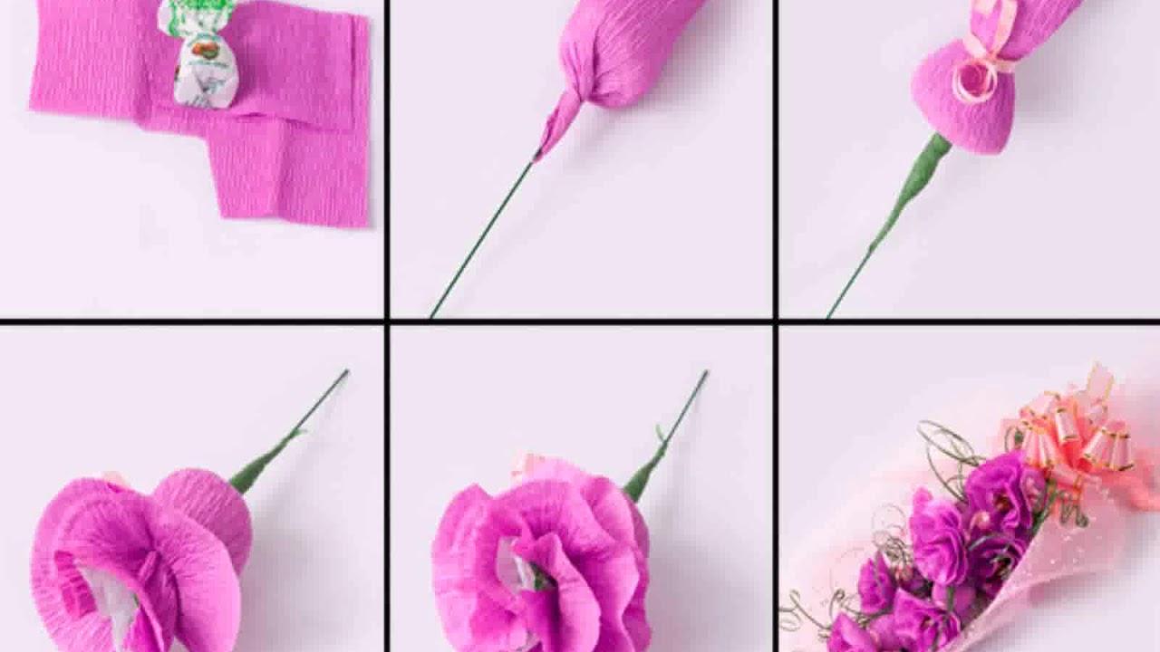 Как сделать букет из конфет: пошаговые видео уроки конфетной флористики - все курсы онлайн