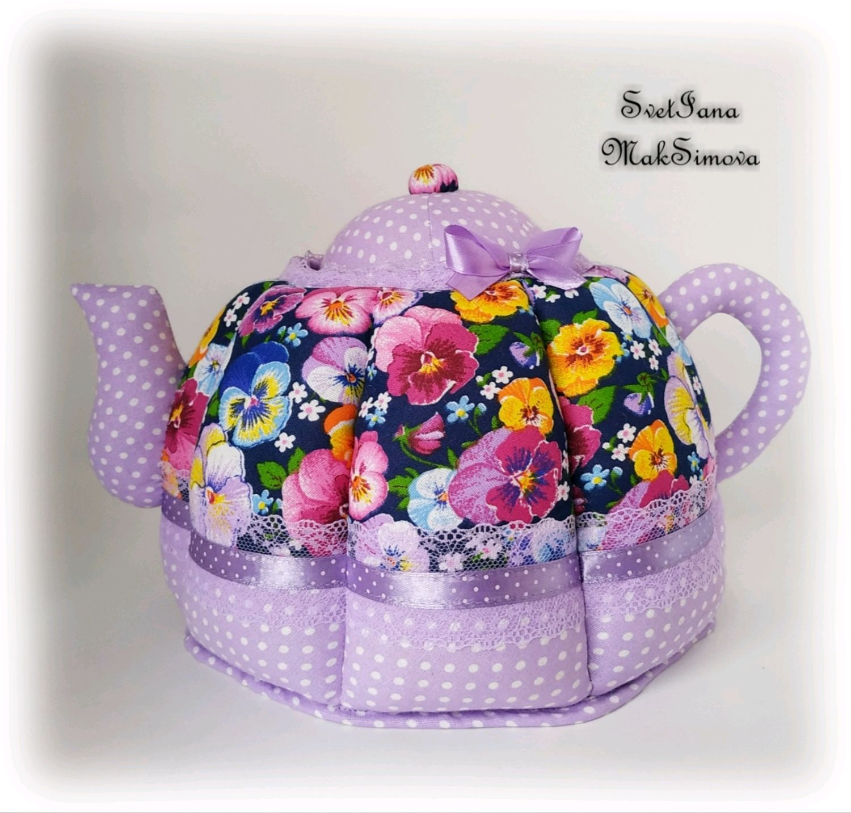Грелка на чайник, своими руками изготовленная - это эсклюзивно, модно, экономично! :: syl.ru