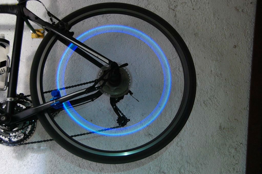 Классная подсветка для велосипеда своими руками