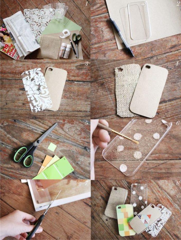Чехол для телефона своими руками: 85 фото современных моделей и варианты оформления защитного чехла