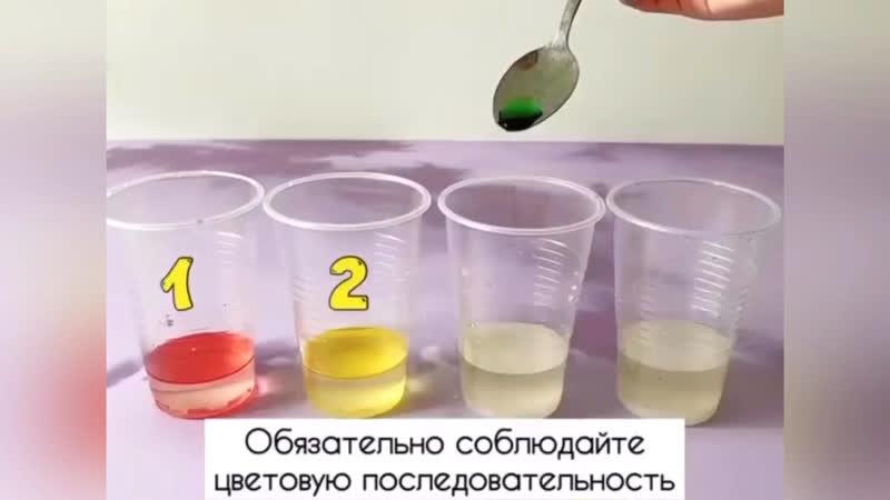 Конспект экспериментальной деятельности «радуга в стакане». воспитателям детских садов, школьным учителям и педагогам - маам.ру