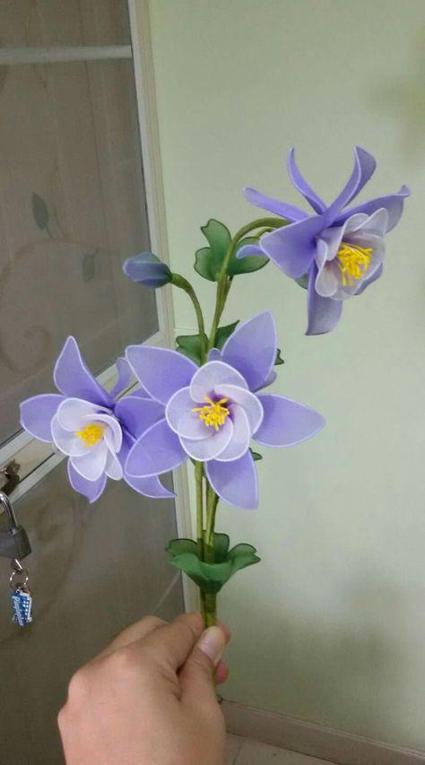 Цветы из капрона и проволоки своими руками