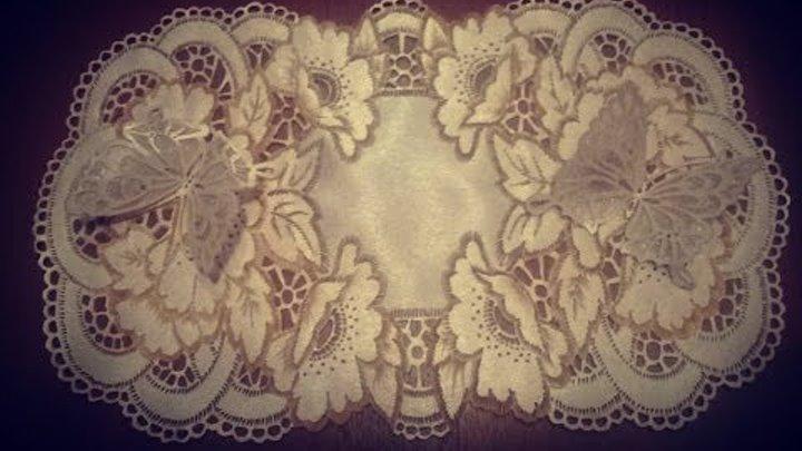 Мастер-класс по гильошированию или выжиганию по ткани (салфетка) | страна мастеров