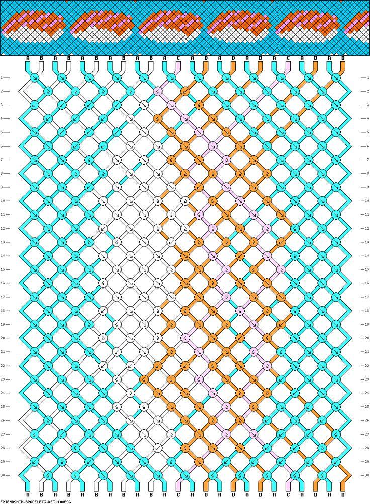Как плести фенечки прямым плетением с видео: работа по схеме с именами для начинающих