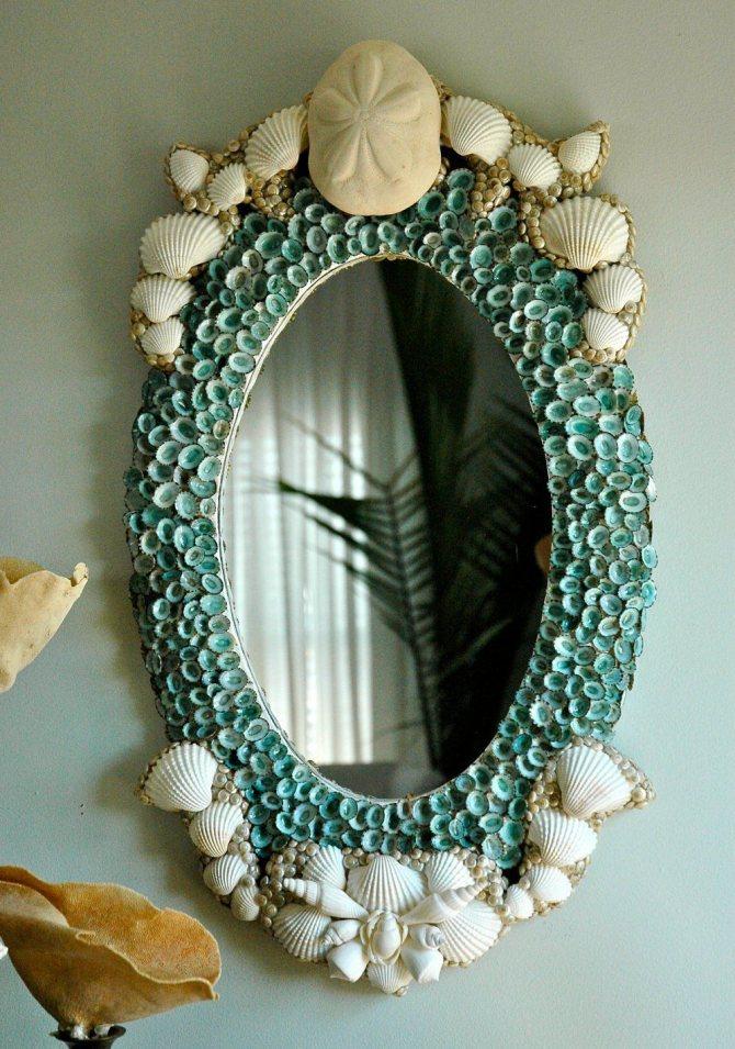 Декорирование зеркальца из пудреницы — своими руками