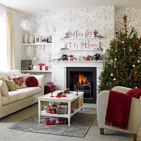 Лучшие идеи новогоднего декора дома 2021: модный декор дома на новый год - фото