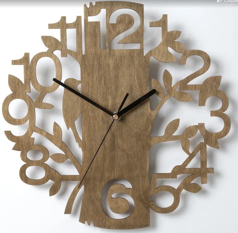 Часы из фанеры: видео-инструкция по монтажу своими руками, особенности выпиливания лобзиком, чертежи, цена, фото