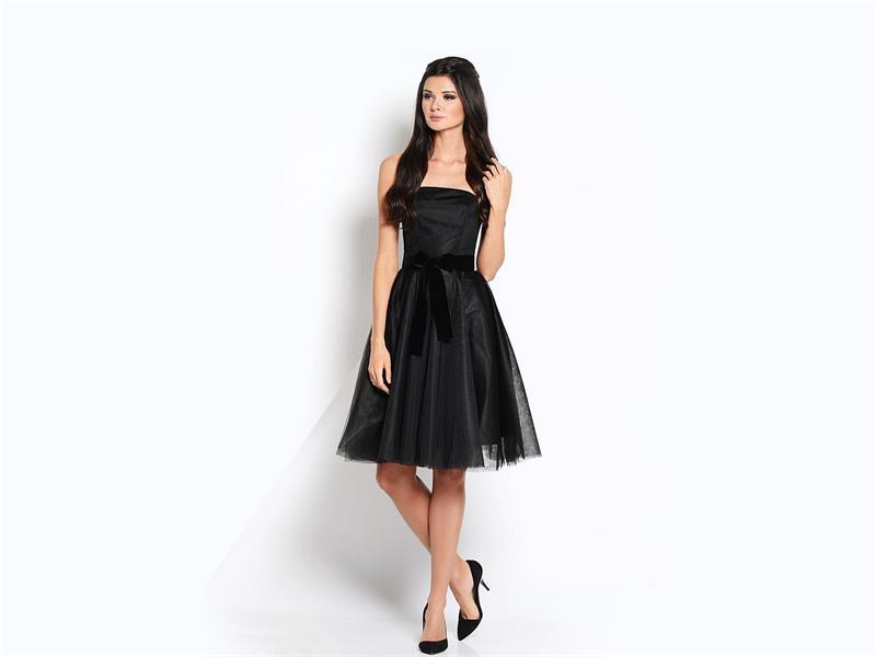 Платье-бюстье (70 фото): черное, красное, с пышной юбкой, длинное