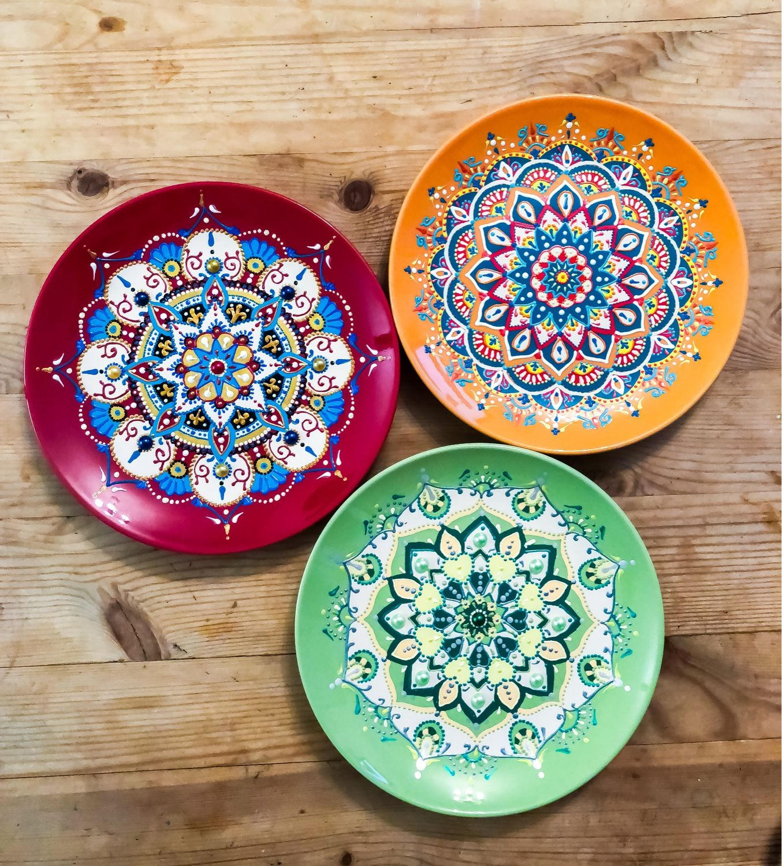 Искусство точечной росписи тарелок, полезные советы новичкам