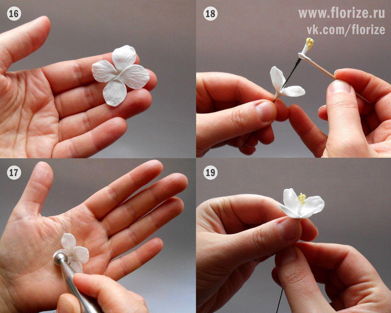Цветы из полимерной глины: 85 фото и видео мастер-класса изготовления украшений из полимерной глины