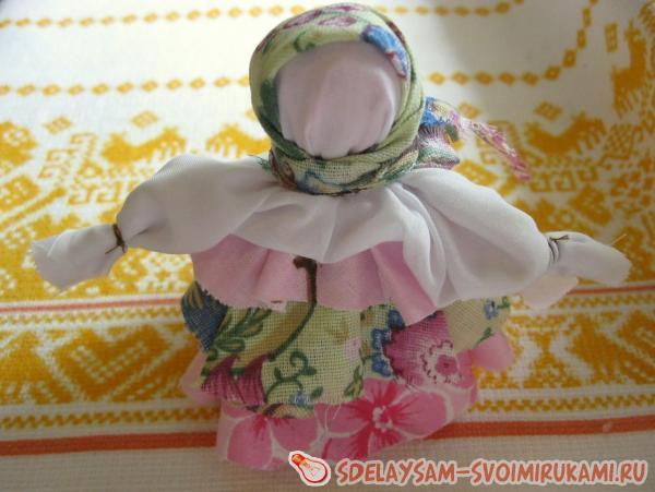 Мастер-класс: обереговая кукла пеленашка для новорожденных и самых маленьких