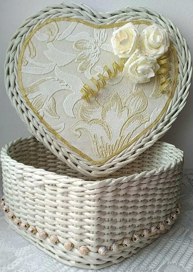 Плетение шкатулки