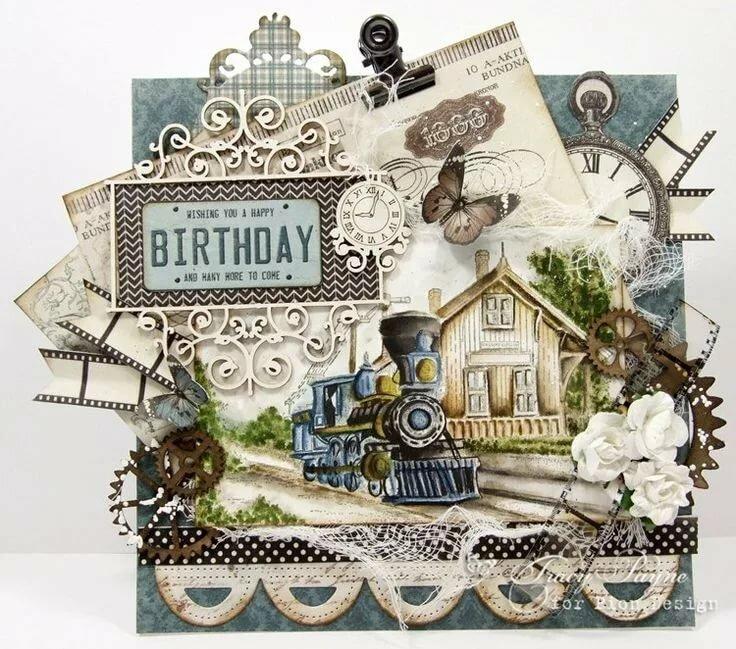 Открытки с днем рождения мужчине. более 100 поздравлений!