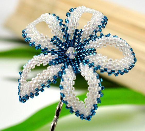 Розы из бисера: схема плетения с пошаговым фото для начинающих